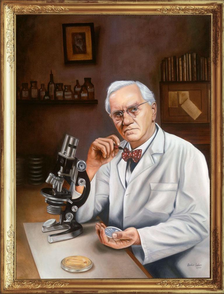 Alexander Fleming Portrait