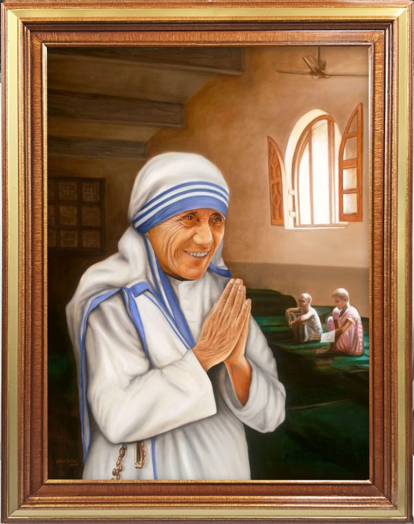 Mother Teresa Portrait