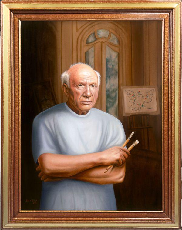 Pablo Picasso Portrait